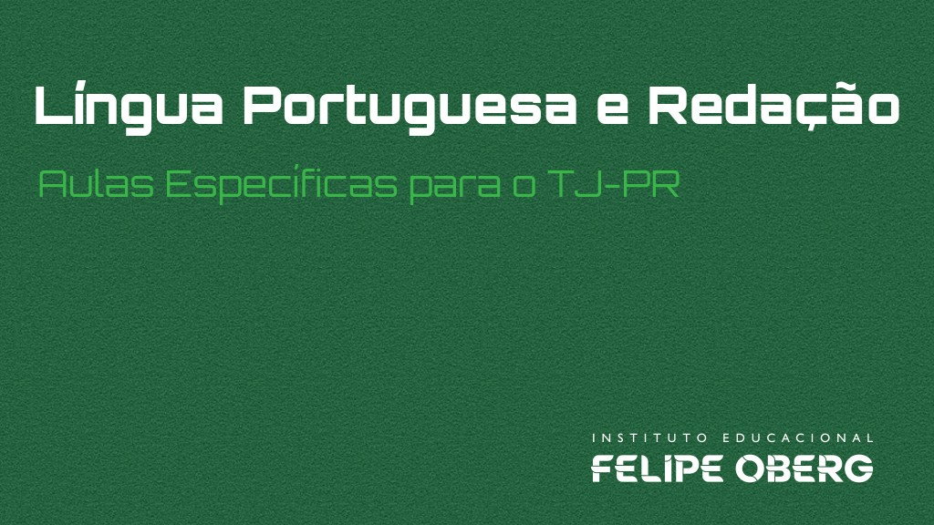 lingua portuguesa video aula
