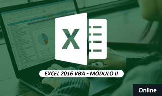 Real & Dados | Excel 2016 VBA - Módulo II (online)