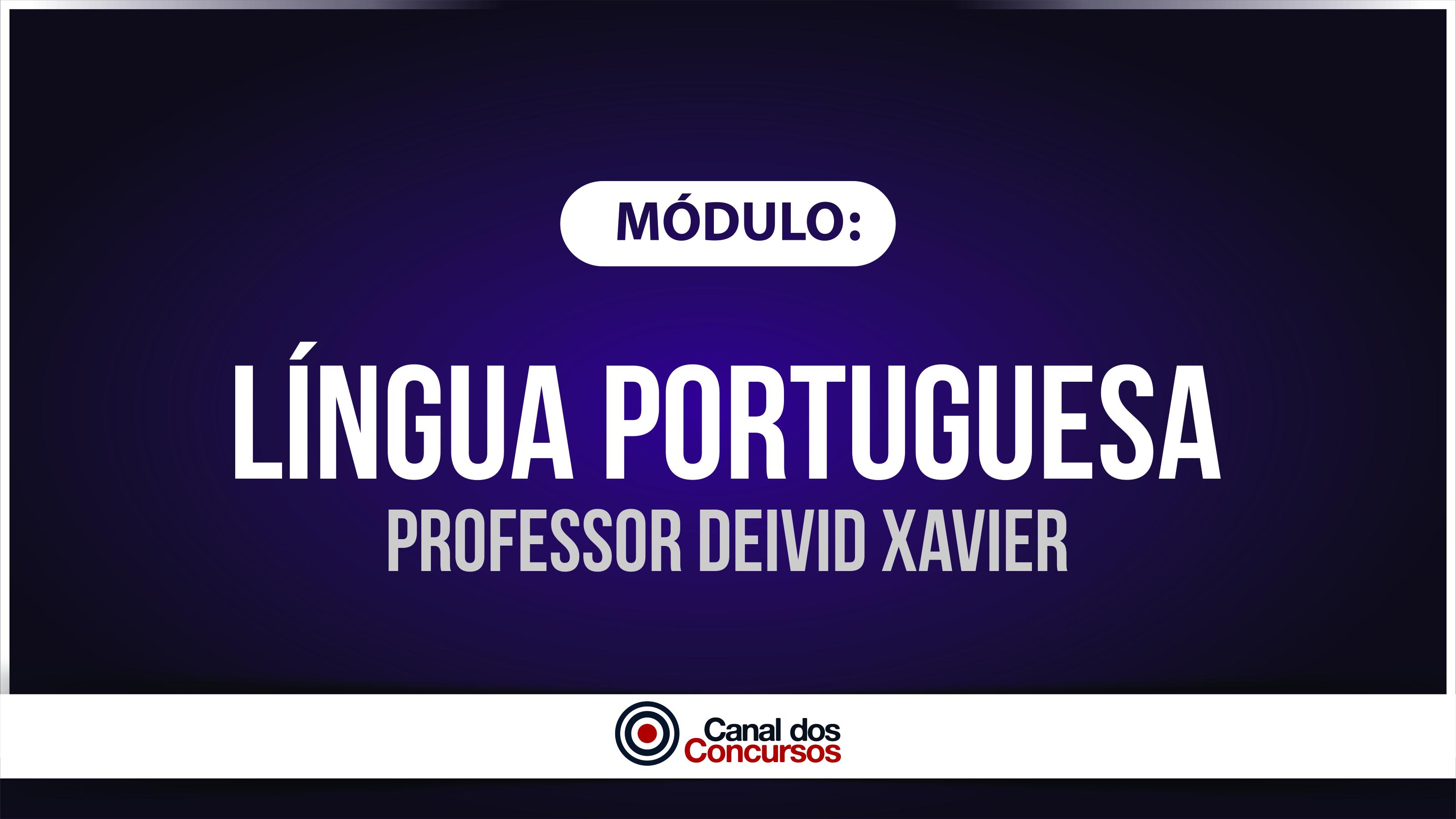 Professor deivid xavier